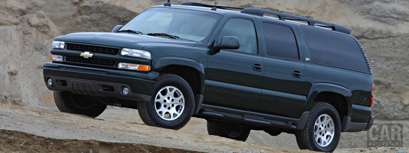 Cars wallpapers Chevrolet Suburban Z71 - 2003 - Car wallpapers