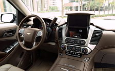 Обои автомобили Chevrolet Suburban LTZ - 2017
