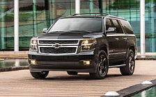 Обои автомобили Chevrolet Suburban Midnight - 2017