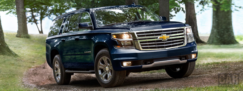 Обои автомобили Chevrolet Suburban Z71 - 2017 - Car wallpapers