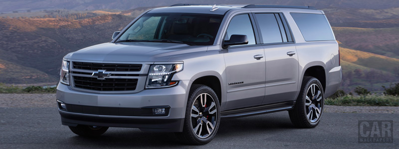 Обои автомобили Chevrolet Suburban RST - 2018 - Car wallpapers