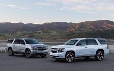 Обои автомобили Chevrolet Suburban RST - 2018