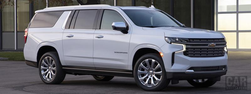 Обои автомобили Chevrolet Suburban - 2020 - Car wallpapers