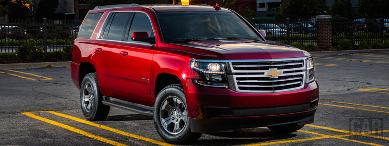 Обои автомобили Chevrolet Tahoe LS Custom - 2017 - Car wallpapers