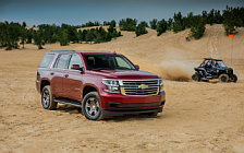 Обои автомобили Chevrolet Tahoe LS Custom - 2017