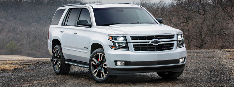 Обои автомобили Chevrolet Tahoe RST - 2017 - Car wallpapers