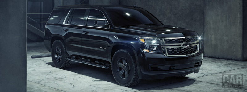 Обои автомобили Chevrolet Tahoe Custom Midnight - 2018 - Car wallpapers