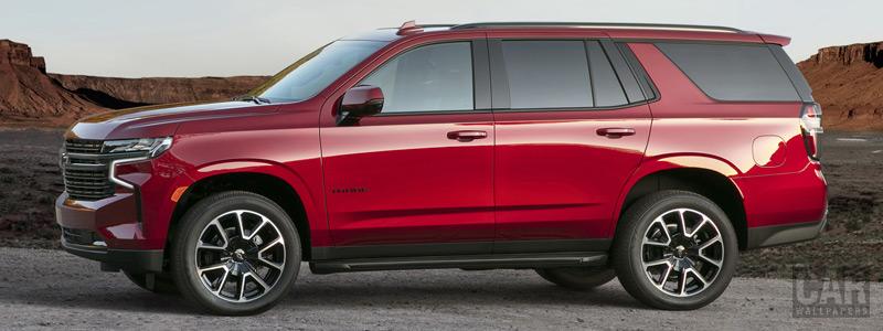 Обои автомобили Chevrolet Tahoe RST - 2020 - Car wallpapers