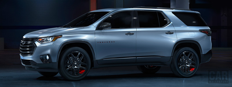 Обои автомобили Chevrolet Traverse Redline - 2017 - Car wallpapers