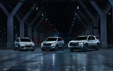 Обои автомобили Chevrolet Traverse Redline - 2017