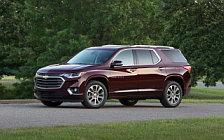 Обои автомобили Chevrolet Traverse - 2017