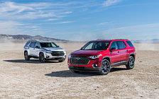 Обои автомобили Chevrolet Traverse Redline - 2018