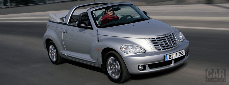 Cars wallpapers Chrysler PT Cruiser Cabrio - 2006 - Car wallpapers