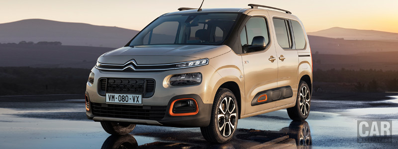 Обои автомобили Citroen Berlingo Multispace XTR - 2018 - Car wallpapers