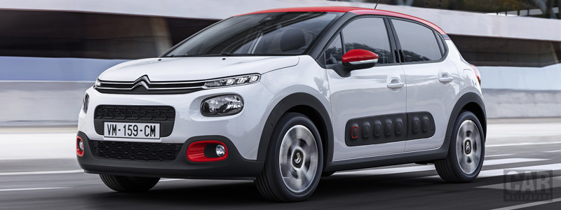 Обои автомобили Citroen C3 - 2016 - Car wallpapers