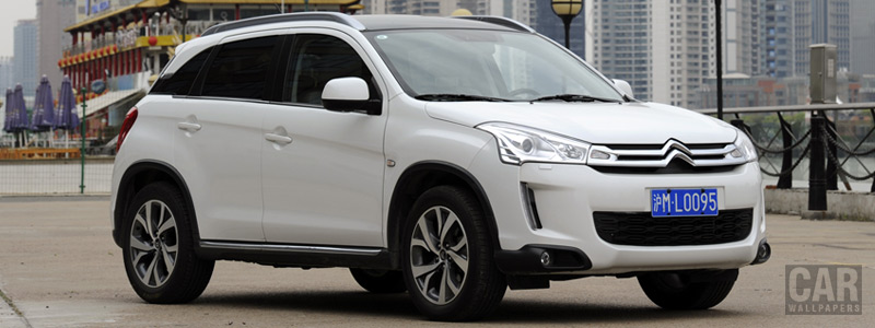 Cars wallpapers Citroen C4 AirCross CN-spec - 2013 - Car wallpapers