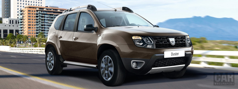 Обои автомобили Dacia Duster Black Touch Black Shadow - 2016 - Car wallpapers