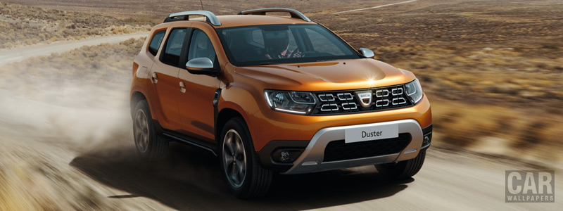 Обои автомобили Dacia Duster - 2017 - Car wallpapers