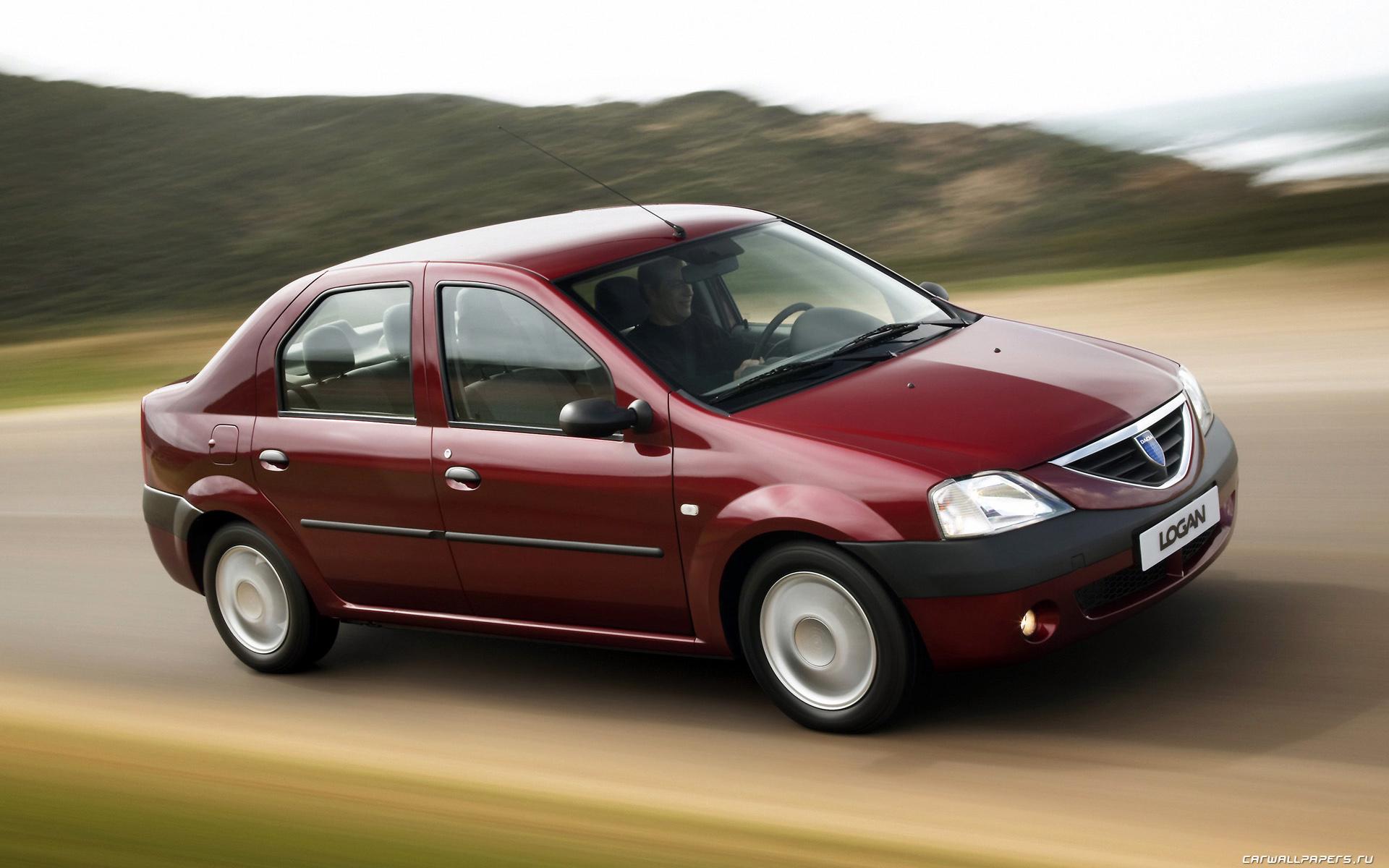 Cars Desktop Wallpapers Dacia Logan 2006