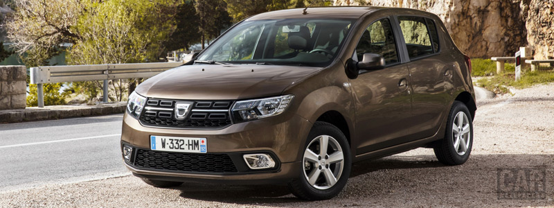 Обои автомобили Dacia Sandero - 2016 - Car wallpapers