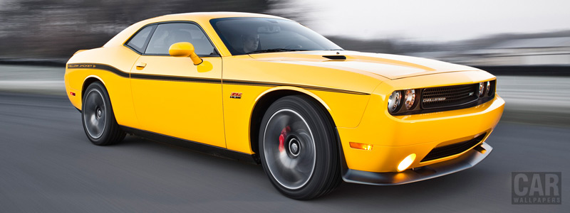 Cars wallpapers Dodge Challenger SRT8 392 Yellow Jacket - 2012 - Car wallpapers