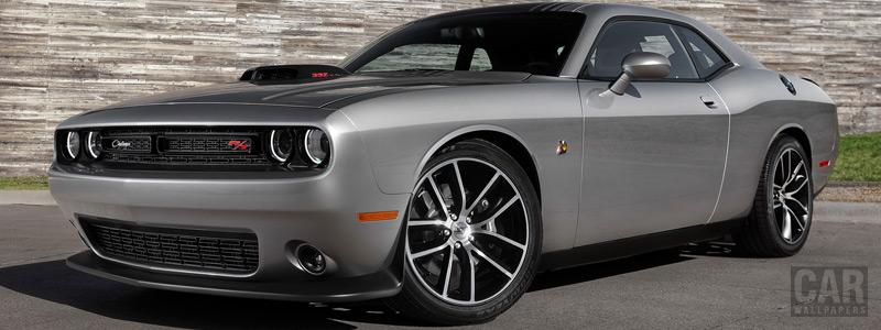 Cars wallpapers Dodge Challenger 392 HEMI Scat Pack Shaker - 2015 - Car wallpapers