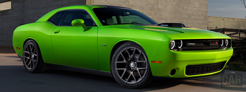 Cars wallpapers Dodge Challenger R/T Plus Shaker - 2015 - Car wallpapers