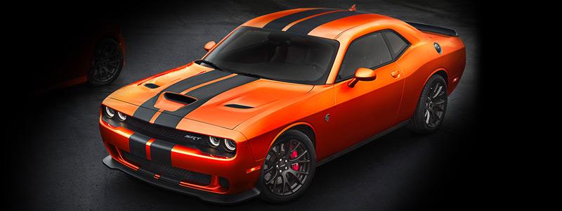 Cars wallpapers Dodge Challenger SRT Hellcat Go Mango - 2016 - Car wallpapers