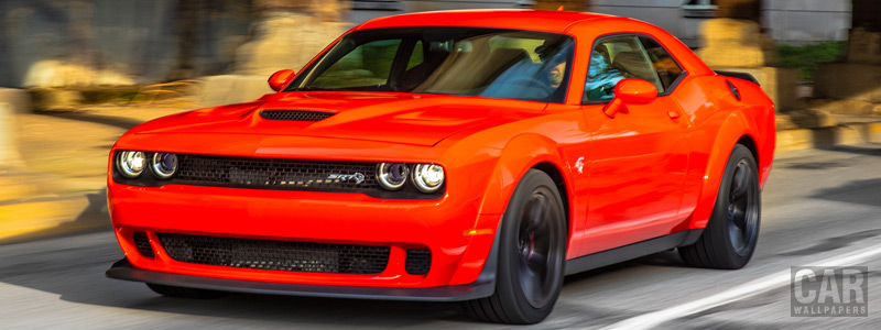 Обои автомобили Dodge Challenger SRT Hellcat Widebody - 2017 - Car wallpapers