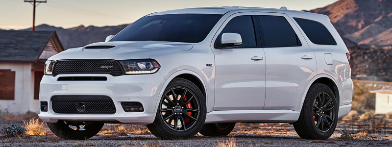Обои автомобили Dodge Durango SRT - 2017 - Car wallpapers