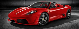 Wallpapers Ferrari F430 Scuderia Spider 16M 2008