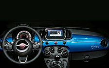 Cars wallpapers Fiat 500 Mirror - 2017