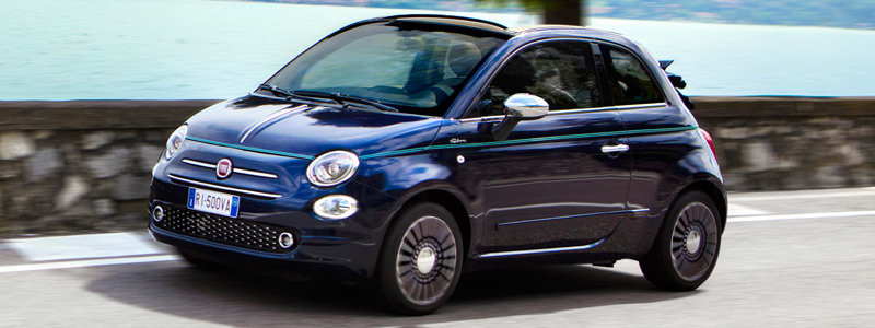 Cars wallpapers Fiat 500C Riva - 2016 - Car wallpapers