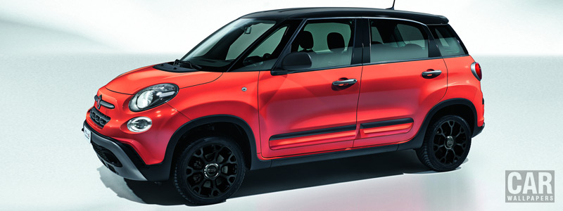 Обои автомобили Fiat 500L City Cross - 2017 - Car wallpapers