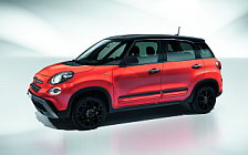 Обои автомобили Fiat 500L City Cross - 2017