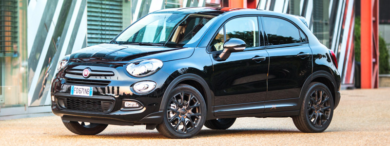 Обои автомобили Fiat 500X S-Design - 2017 - Car wallpapers