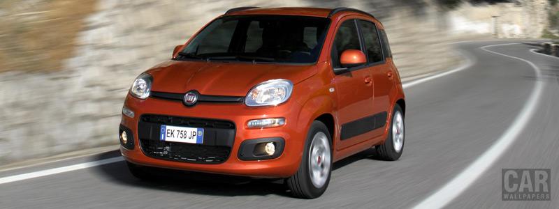 Обои автомобили Fiat Panda - 2012 - Car wallpapers