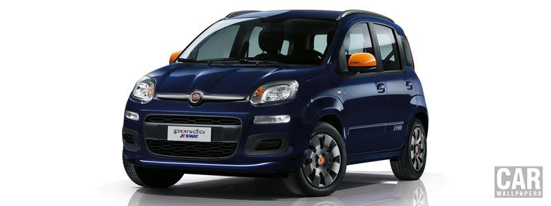 Обои автомобили Fiat Panda K-Way - 2015 - Car wallpapers