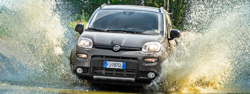 Обои автомобили Fiat Panda 4x4 - 2017 - Car wallpapers