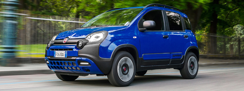 Cars wallpapers Fiat Panda City Cross - 2017 - Car wallpapers