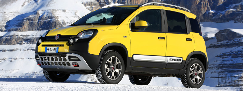 Обои автомобили Fiat Panda Cross - 2018 - Car wallpapers