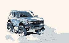 Обои автомобили Ford Bronco 2-Door First Edition - 2020