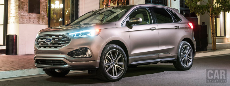 Обои автомобили Ford Edge Titanium Elite - 2018 - Car wallpapers