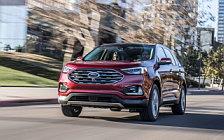 Обои автомобили Ford Edge Titanium - 2018
