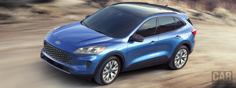 Обои автомобили Ford Escape Hybrid Titanium - 2019 - Car wallpapers