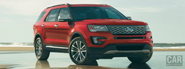 Ford Explorer Platinum - 2016