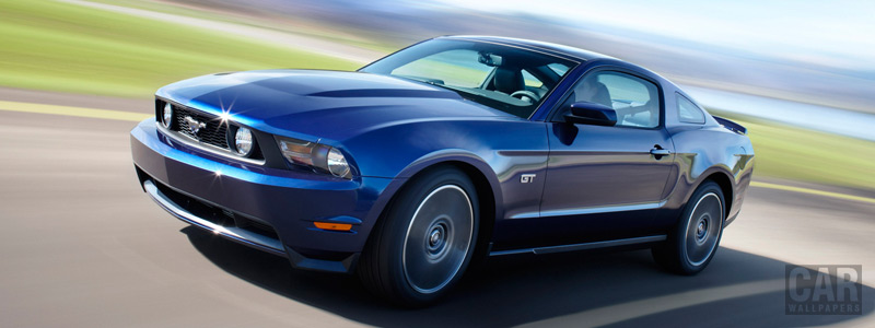 Cars wallpapers Ford Mustang - 2010 - Car wallpapers
