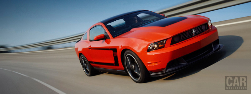 Cars wallpapers Ford Mustang Boss 302 - 2012 - Car wallpapers