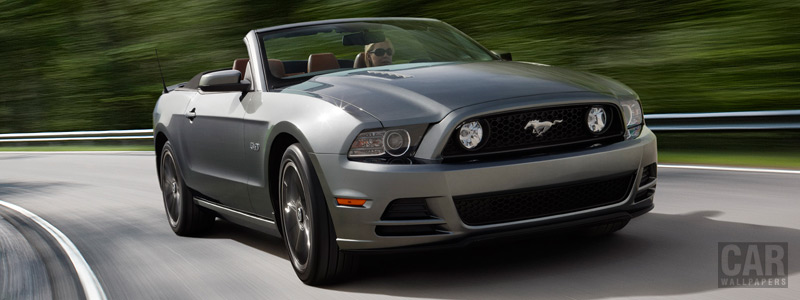 Cars wallpapers Ford Mustang GT Convertible - 2013 - Car wallpapers