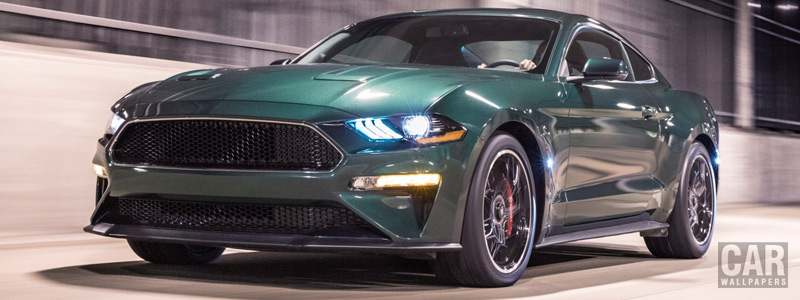 Обои автомобили Ford Mustang Bullitt - 2018 - Car wallpapers